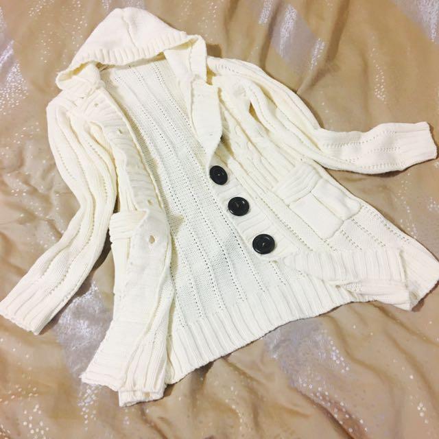 💕木釦針織外套💕