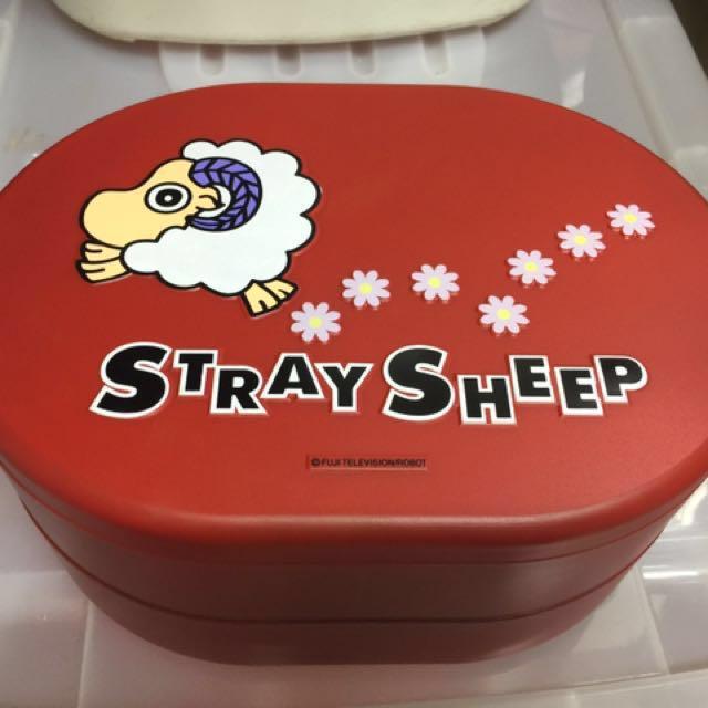 喜羊羊雙層糖果餅乾盒