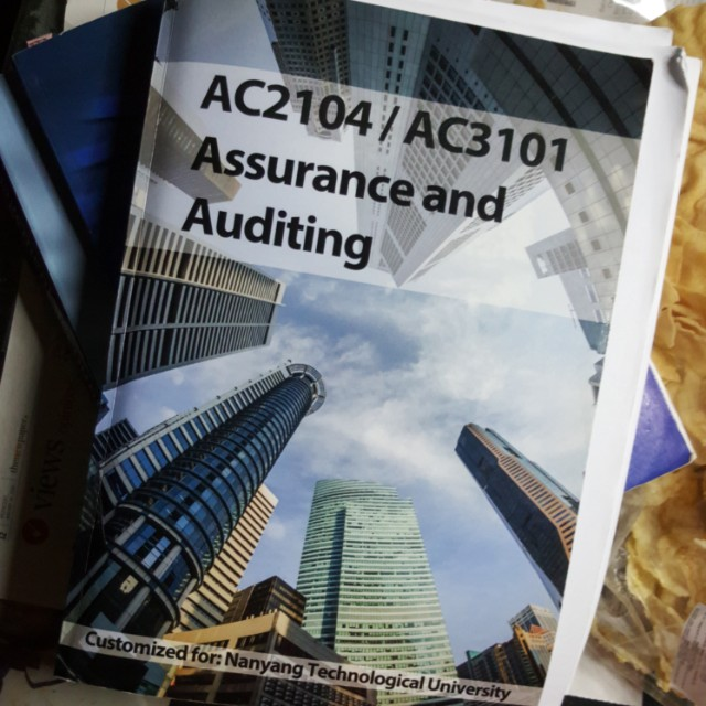 AC2104 AC3101 Assurance and Auditing