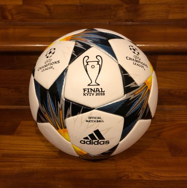 e67355b5be6 Adidas Official Match Ball Finale Kiev Champions League 2018