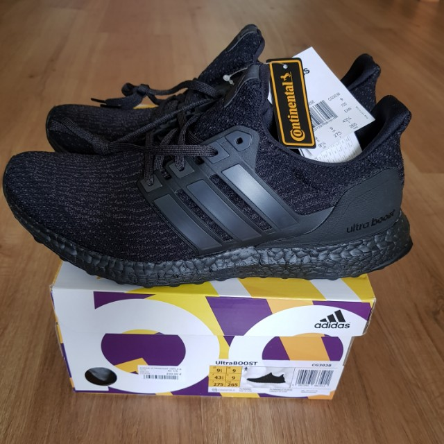 44552bcbe Adidas Ultra Boost 3.0 Triple Black V2 CG3038