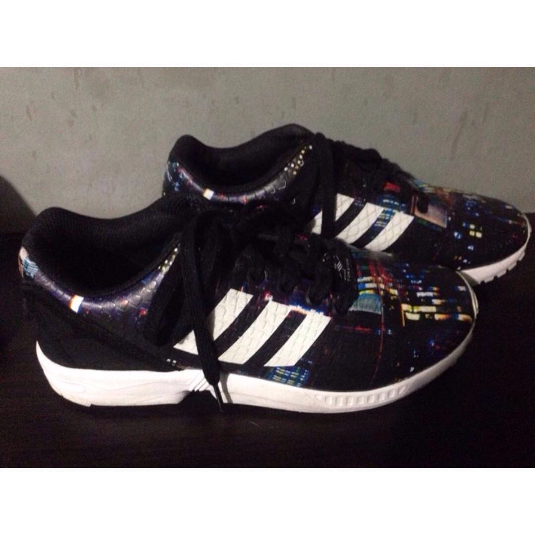 sports shoes 41fdb 93621 ... france adidas zx flux snake city limited edition for sale swap womens  fashion shoes on carousell