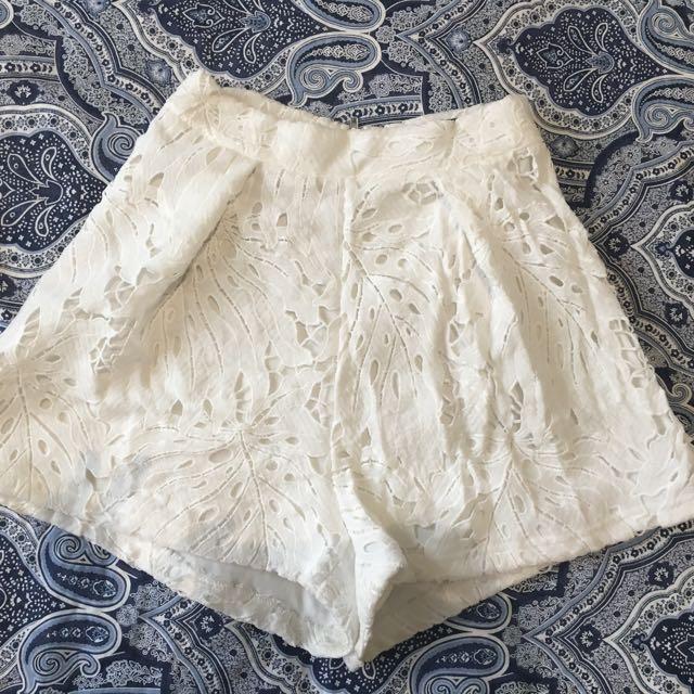 Ally fashion lace shorts