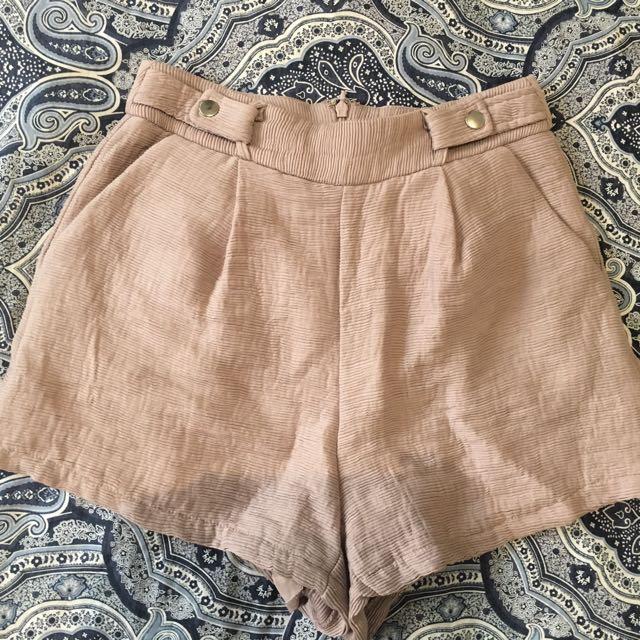 Ally fashion shorts dusty pink