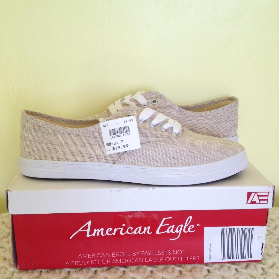 American eagle weaved shoes