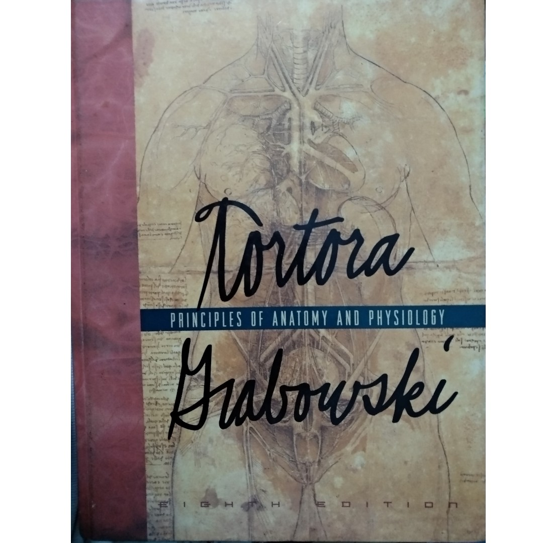 Moderno Anatomy And Physiology Book By Tortora Adorno - Imágenes de ...