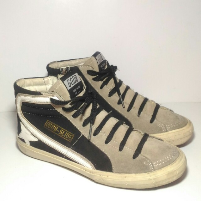Authentic Golden Goose Deluxe Brand SLIDE Sneakers