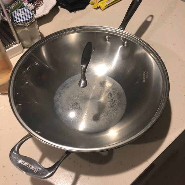 Baccarat 28cm fry pan with extra lid