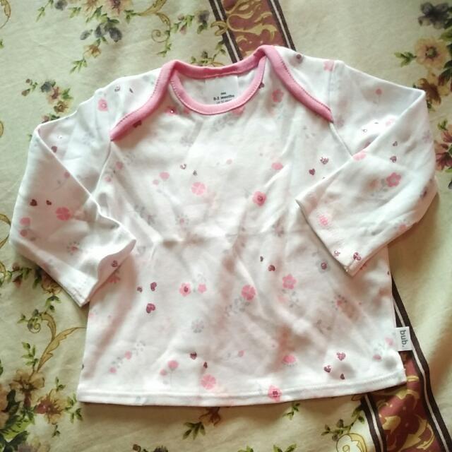 Baju Lengan Panjang Cotton 100%