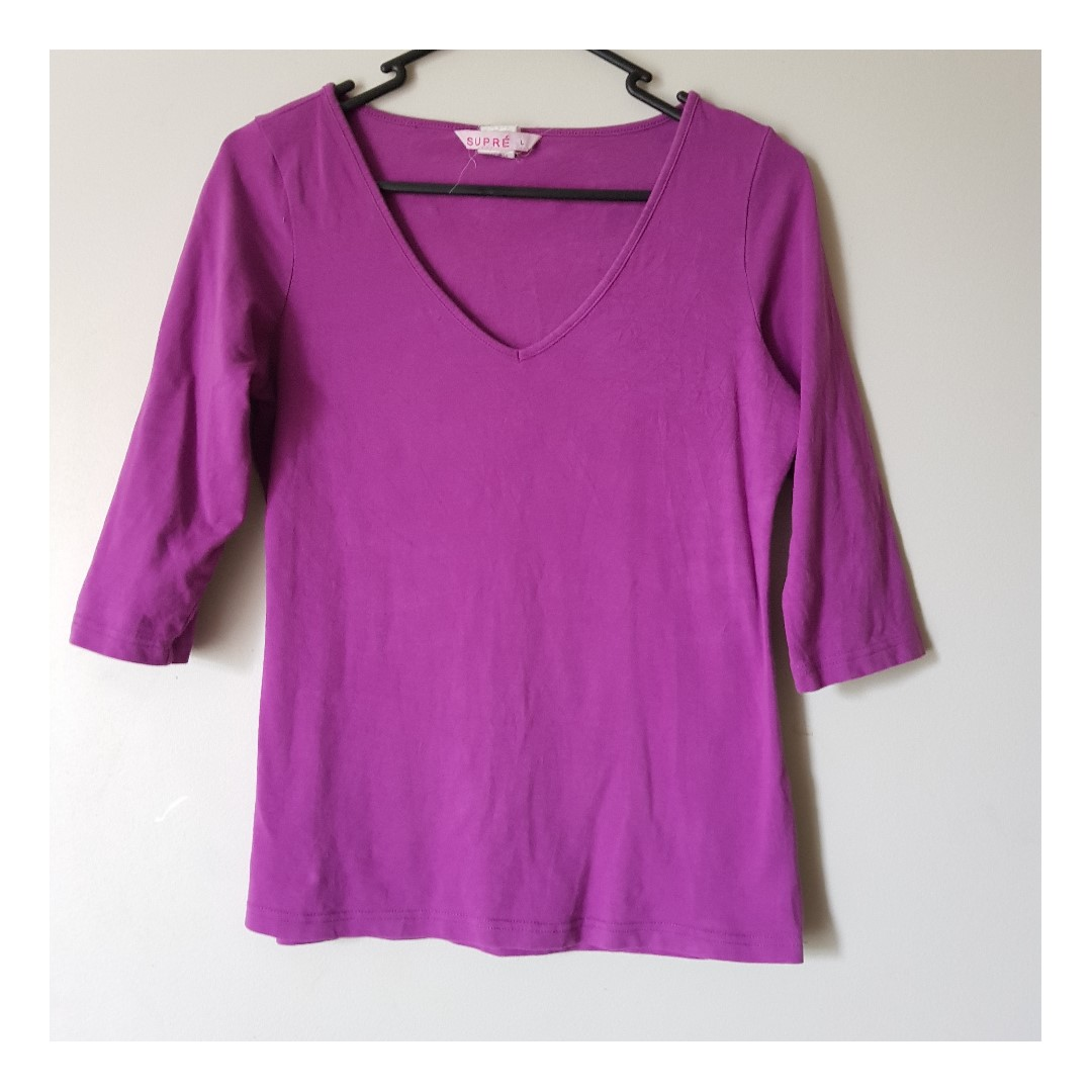 Barney Purple Supre Top