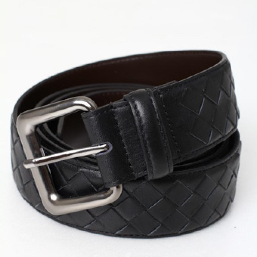 Belt Bottega Veneta mirror 1:1 copy ori Black