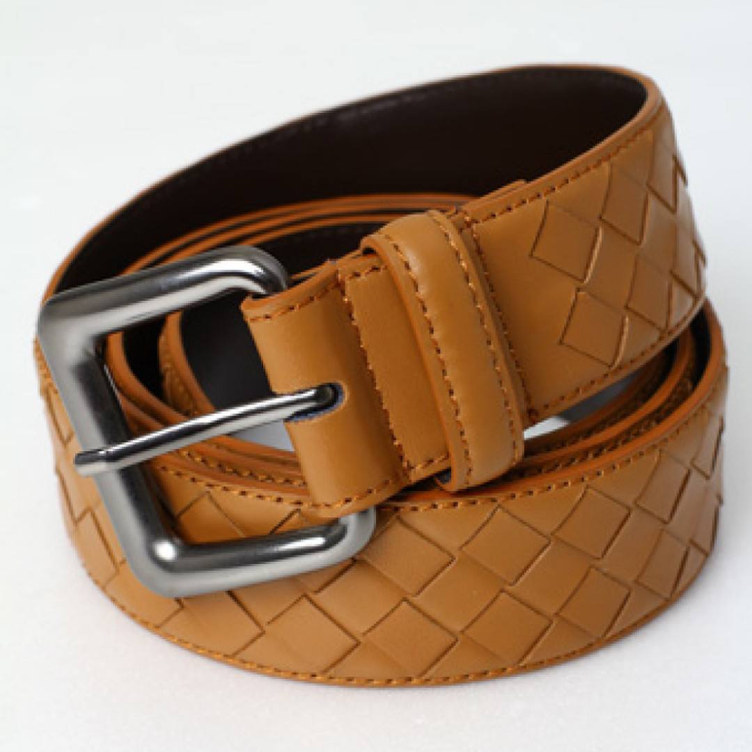 Belt Bottega Veneta mirror 1:1 copy ori Light Brown