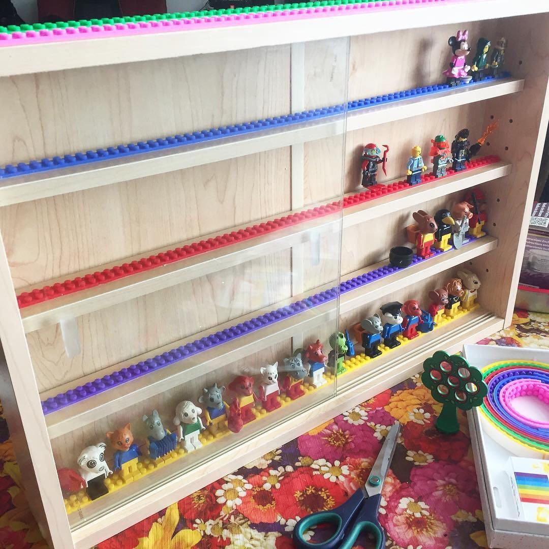 Bendy Bricks High Quality Lego Tape 2 Dots One Metre Xmas Sale