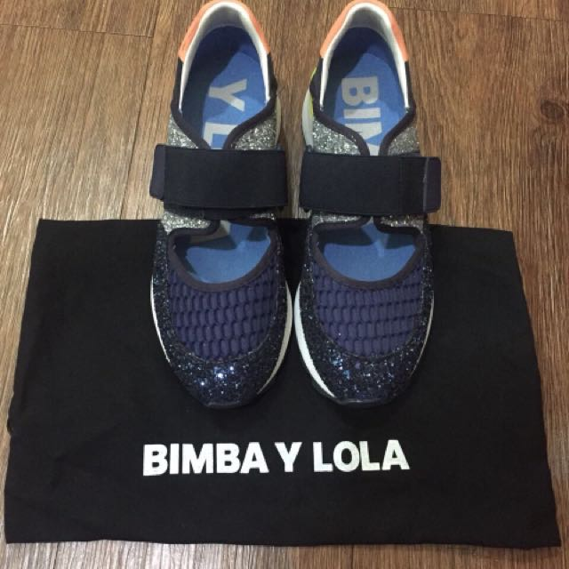 BIMBA Y LOLA SNEAKERS VAVY GLITTER