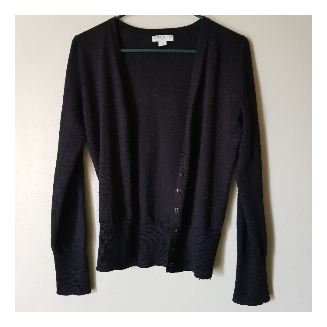 Black Cotton On Cardigan