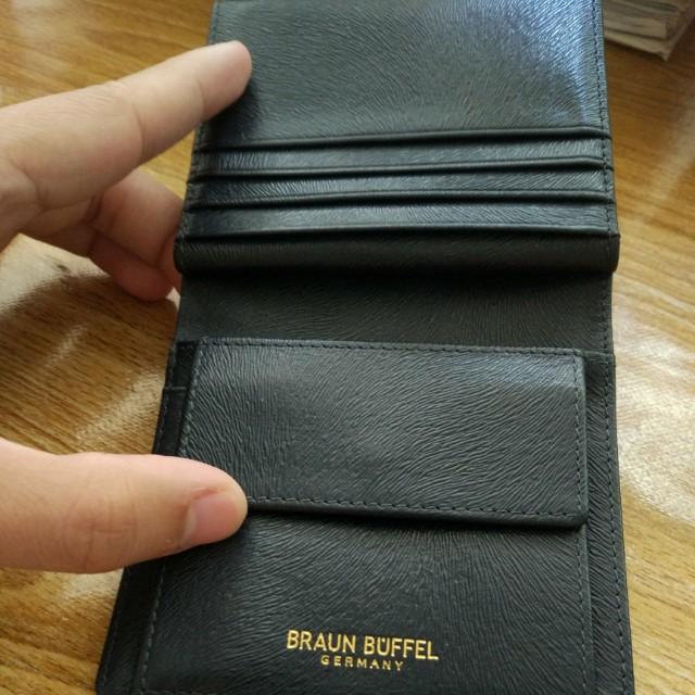 Blue Braun Buffel wallet