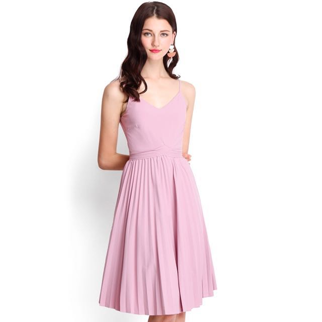 BNWT Size S Lilypirates Whirlwind Romance Dress In Dusty Pink