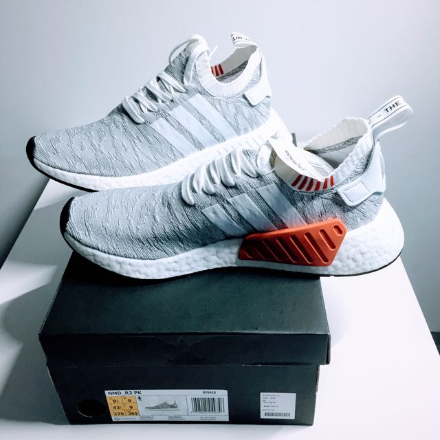 ae4fff768 BRAND NEW - NEVER WORN  adidas NMD R2 PK (Primeknit) - size 9 UK ...