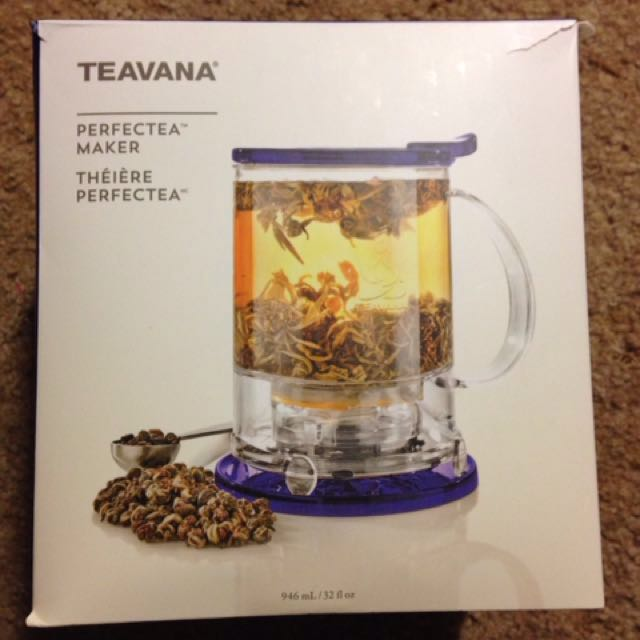 BRAND NEW TEAVANA PERFECT TEA MAKER