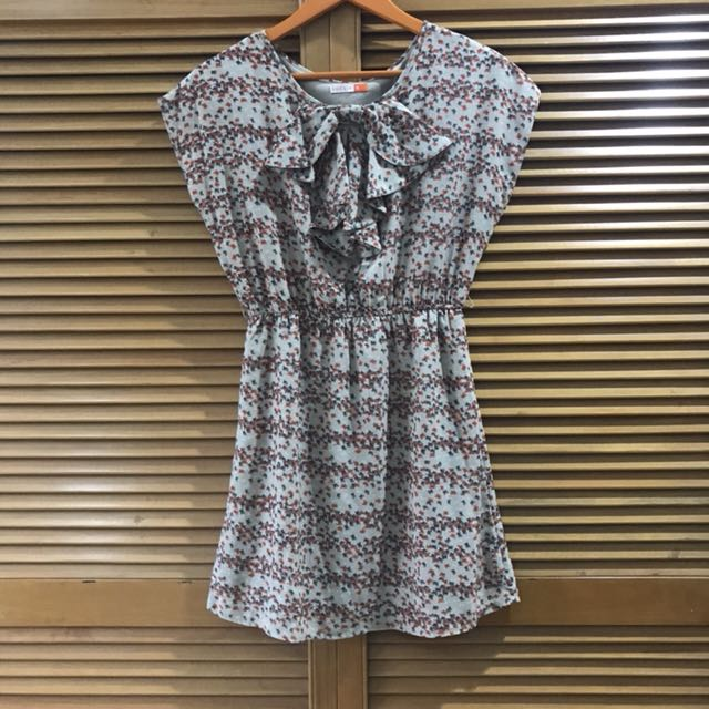 Butterfly brown dress