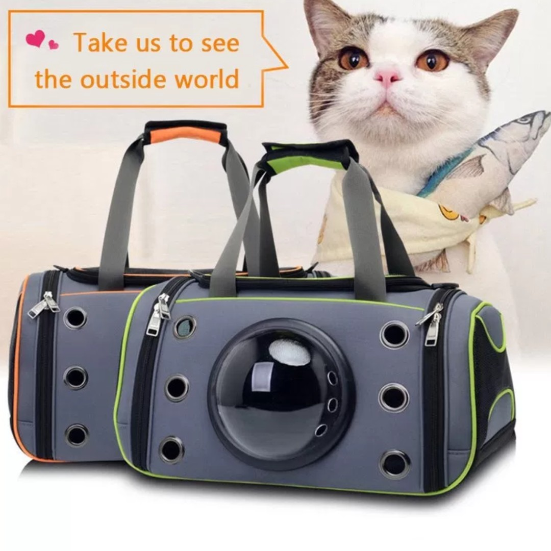Capsule Astronaut Pet Carrier Cat Backpack   Small Dog Carrier Space ... 6ea095984d603