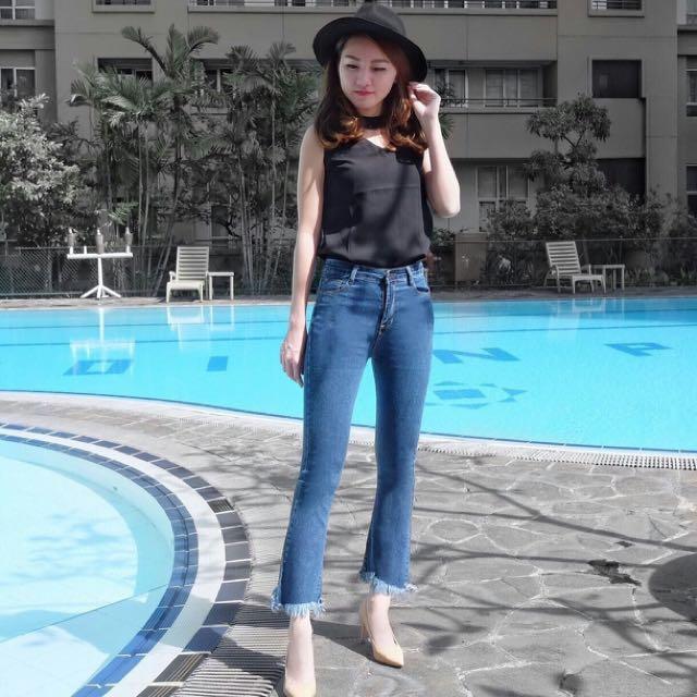 Celana Jeans Posh 2709 Biru Tua