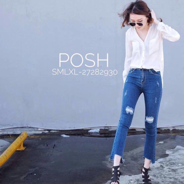 Celana Jeans Posh 3709 Biru Tua