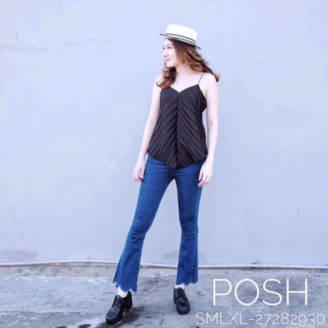 Celana Jeans Posh 6088 Biru Tua