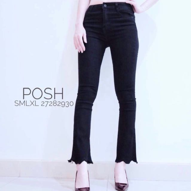 Celana Jeans Posh 6088 Hitam