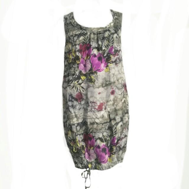 Chalice silk dress sz M