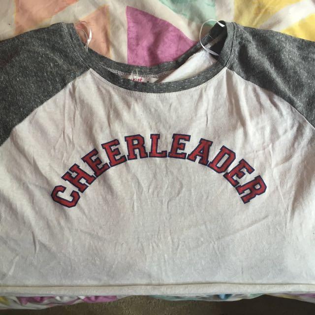 Cheerleader Crop Top