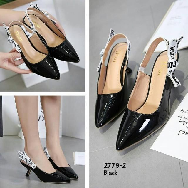 f766727cf56 Christian dior jadior ribbon slingback kitten heels womens fashion jpg  640x640 Kitten heels dior