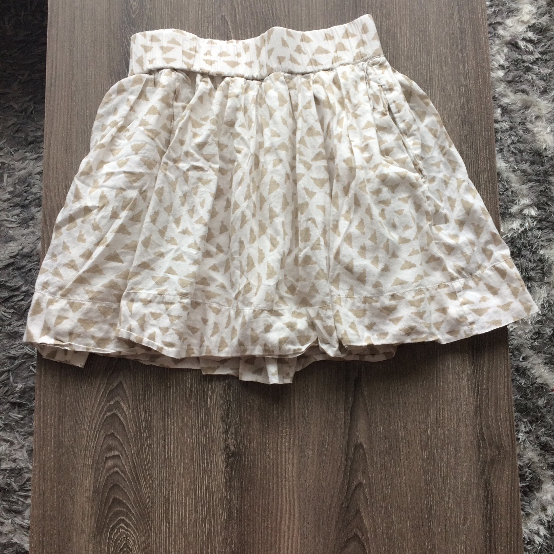 Club Monaco Cotton Mini Skirt