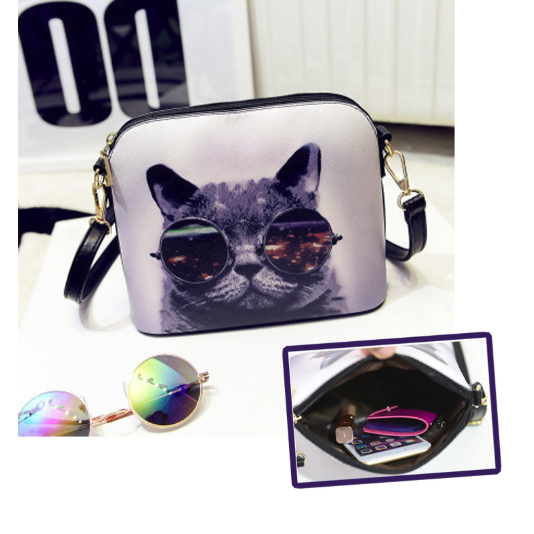 0f32fab71e2f COOL CAT SLING BAG, Women's Fashion, Bags & Wallets on Carousell