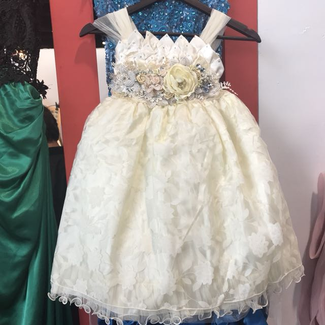 Crown party dress