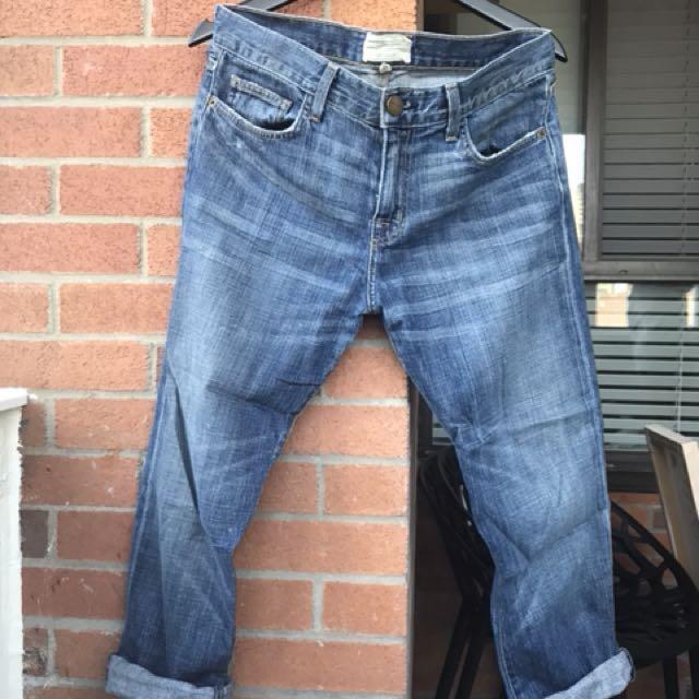 Current Elliot boyfriend jeans . Size - 6