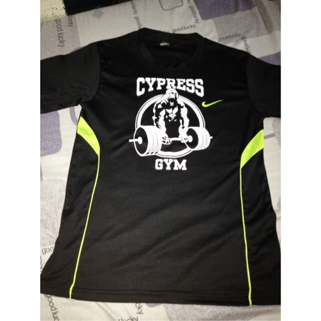 Cypress Gym Work Out Shirt