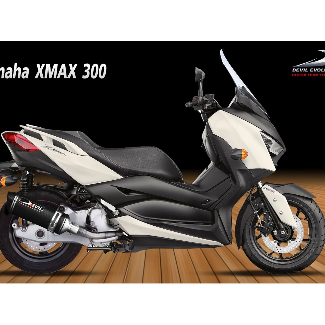 Devil Exhaust Systems Singapore Yamaha XMAX 300 ! Ready Stock ! Promo ! Do  Not PM ! Kindly Call Us ! Kindly Follow Us ! Kindly Join Us As Members To