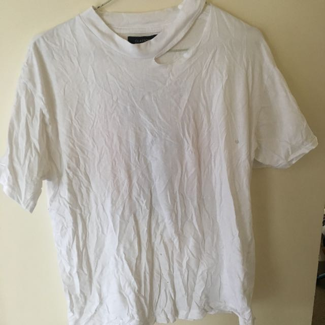 Distressed glassons top