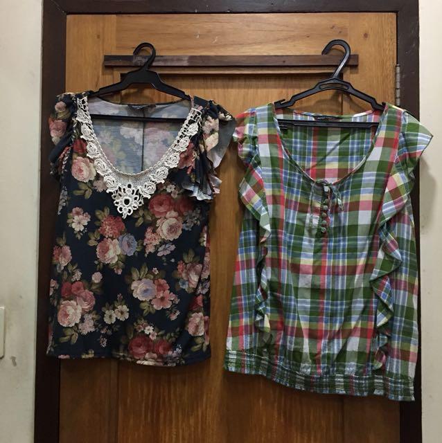 Dorothy Perkins blouses