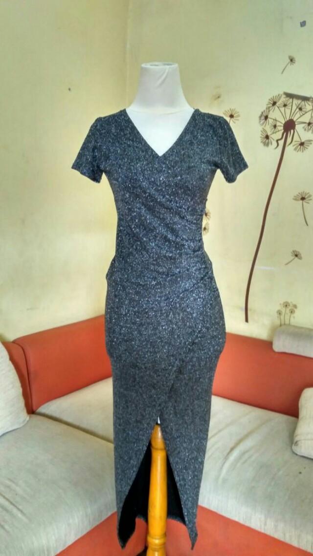 Dress Cantik glitter