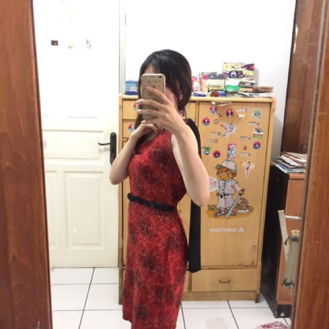 dress merah!