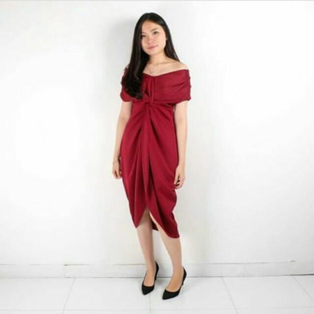 Dress Warna Peach  Ya Ada Model Kaya Di Pict