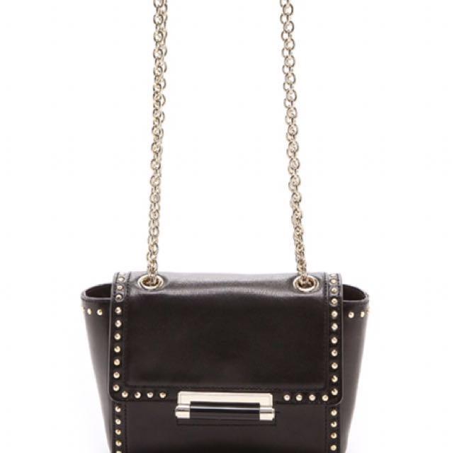 DVF Mini Faceted Stud Handbag