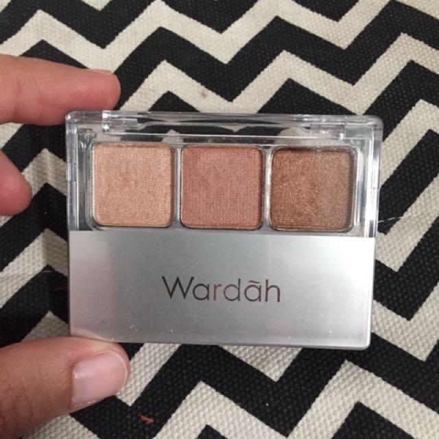 Eyeshadow nude colours wardah