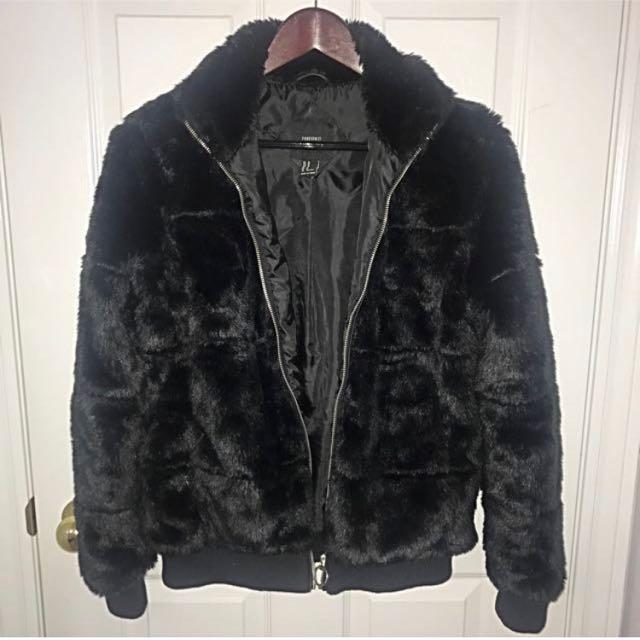 F21 faux fur