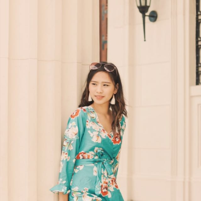 Floral Romper. Apartment8 inspired