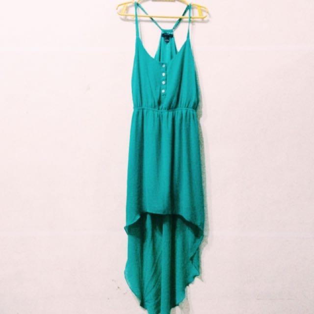 d4d0f392 Forever 21 asymmetric dress on Carousell