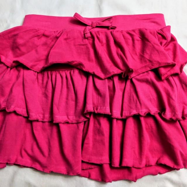 Girls pink skirt size 10-12