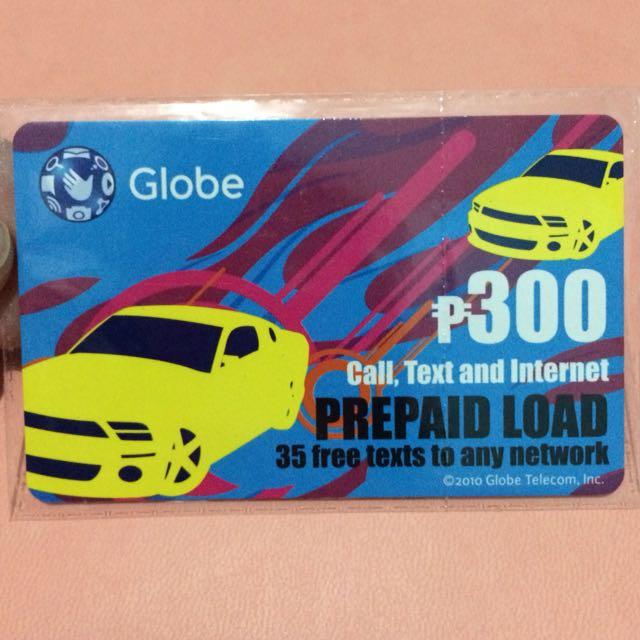 Globe Prepaid 300
